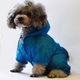 Pet Life Waterproof Zipper Dog Raincoat MD Yellow