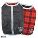 NorEaster Reversible Winter Dog Coat Medium Chive
