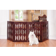 St Augustine Freestanding Pet Gate 4 Panel 36in