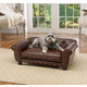 Enchanted Home Pet Brisbane Brown Tufted Dog Bed