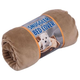 SnooZZy Rustic Elegance Tan Plush Dog Blanket