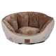 SnooZZy Rustic Elegance Buff Clamshell Dog Bed