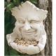 Carruth Studio Hand Cast Birdfeeder Garden Smile