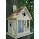 Pacific Grove Birdhouse Yellow With Lt. Blue