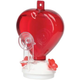 Heart Hummingbird Feeder