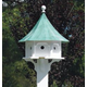 Lazy Hill Carousel Bird House Verdi Roof