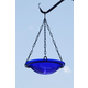 Cobalt Blue Hanging Birdbath