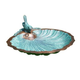 Scallop Shell Birdbath and Feeder
