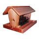 Stovall Wood 12 lb Medium Barn Hanging Feeder