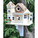 Home Bazaar Sea Cliff Cottage Birdhouse Yellow