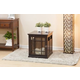 Neal Dog Crate with Wood Slats