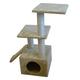 Iconic Pet Three Level Cat Tree Condo w/Ramp/Posts