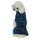 Pet Life Classic True Blue Cable Dog Sweater LG