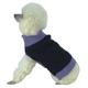 Pet Life Oval Weaved Purple Designer Dog Sweater L
