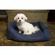 Iconic Pet Luxury Denim Swaddlez Pet Bed Large