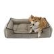 Jax and Bones Platinum Sleeper Dog Bed Xlarge