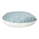 Quiet Time Script Blue Round Pillow Dog Bed 48in