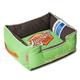 Touchdog Vintage Mint Green Bolster Dog Bed LG