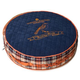 Touchdog Bark Royale Royal Blue Fleece Dog Bed LG
