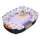 Touchdog Floral Galore Lavender Dog Bed LG