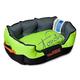 Touchdog Sporty Comfort Green Dog Bed LG