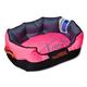 Touchdog Sporty Comfort Pink Dog Bed LG