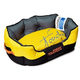Touchdog Sporty Comfort Yellow/Black Dog Bed LG