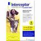 Interceptor 6 Month 6ct Yellow 26-50lbs