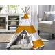Merry Products Orange Stripe Pet Teepee Large