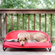 Gen7Pets Cool Air Pathfinder Red Pet Cot Large