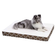Quiet Time EcoSpring Brown Ortho Dog Bed 36x48