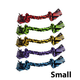 Multipet Nuts for Knots Knotted Rope Dog Toy Large