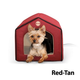 KH Mfg Thermo Indoor Red/Tan Pet House