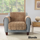 Sure Fit Faux Fur Chair Slipcover Taupe