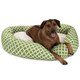 Majestic Pet Sage Bamboo Sherpa Bagel Bed 52 in