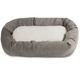 Majestic Pet Vintage Villa Sherpa Bagel Bed 52 in