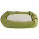 Majestic Pet Apple Villa Sherpa Bagel Bed 52 inch
