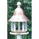 Lazy Hill Bell Bird Feeder Copper