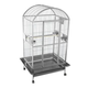 A and E Stainless Steel Dometop Bird Cage 50 Inch