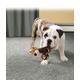 KONG TenniShoes Plush Dog Toy Large Zebra