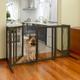Richell Deluxe Freestanding Mesh Pet Gate