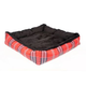 Kensington Deluxe Red Plaid Bolster Dog Bed XL