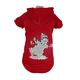 Pet Life LED Holiday Snowman Sweater Costume LG