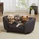 Enchanted Home Pet Hudson Grey/Black Dog Bed