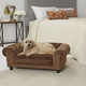 Enchanted Home Pet Melbourne Brown Sofa Dog Bed