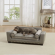 Enchanted Home Pet Scout Grey Lounger Sofa Dog Bed