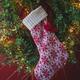 Hugglehounds Holiday Snowflake Cat Stocking