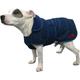WeatherBeeta Tweed Dog Coat 32 Navy