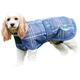 WeatherBeeta Parka 1200 Deluxe Dog Coat 32 Navy/Li