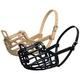 Italian Basket Muzzle Tan Size 9